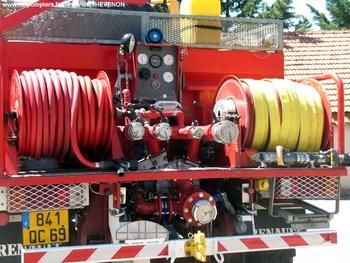 Camion-citerne pour feux de forêts, Sapeurs-pompiers, Rhône (69)