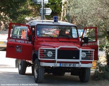 Camion-citerne pour feux de forêts léger, Sapeurs-pompiers, Var