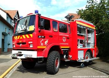 Véhicule de première intervention, Sapeurs-pompiers, Bas-Rhin (67)