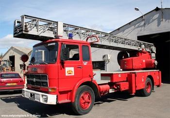 Echelle pivotante, Sapeurs-pompiers, Aude
