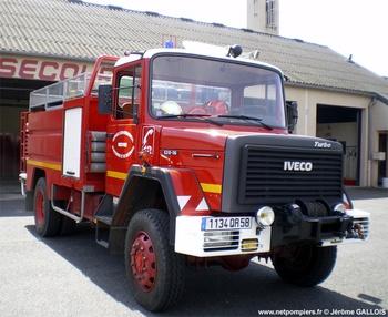 Camion-citerne d'incendie, Sapeurs-pompiers, Nièvre (58)