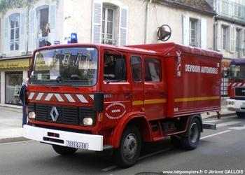 Dévidoir automobile, Sapeurs-pompiers, Nièvre (58)