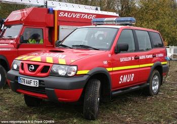Véhicule radio médicalisé, Marins-pompiers de Marseille, Bouches-du-Rhône (13)