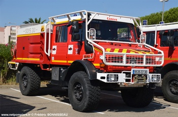 Camion-citerne pour feux de forêts, Sapeurs-pompiers, Gard
