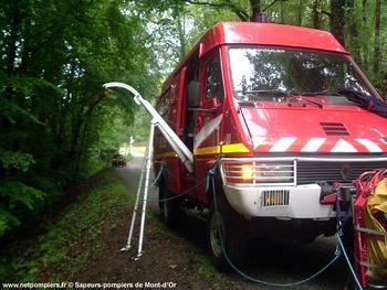Véhicule pour interventions en milieu périlleux, Sapeurs-pompiers, Doubs (25)