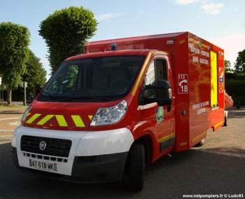 Véhicule de secours nautique, Sapeurs-pompiers, Seine-Maritime (76)