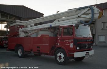 Camion bras élévateur articulé, Sapeurs-pompiers, Ariège (09)