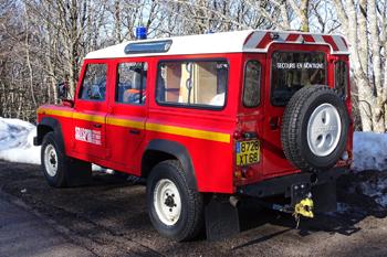 <h2>Véhicule de secours en montagne - Soultzeren - Haut-Rhin (68)</h2>