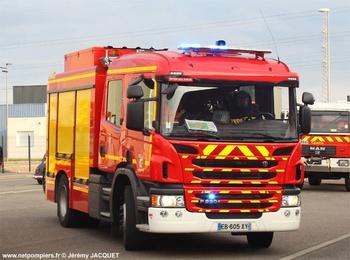 Fourgon-pompe tonne secours routier, Sapeurs-pompiers, Bas-Rhin (67)
