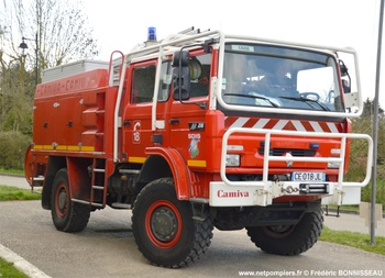 Camion-citerne rural, Sapeurs-pompiers, Eure