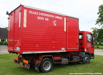 Véhicule porte-cellule, Sapeurs-pompiers, Yonne (89)