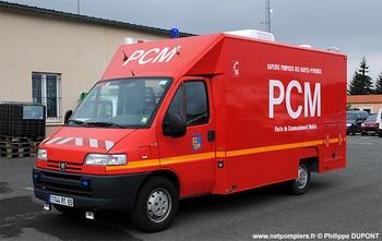 Véhicule poste de commandement, Sapeurs-pompiers, Hautes-Pyrénées (65)
