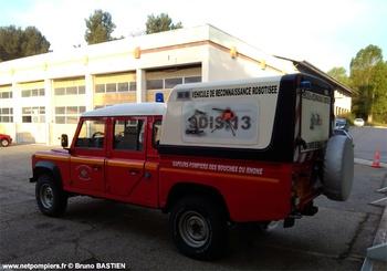 <h2>Véhicule de reconnaissance robotisée - Martigues - Bouches-du-Rhône (13)</h2>