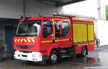 Fourgon-pompe tonne léger, Sapeurs-pompiers, Corrèze (19)