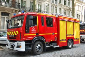 Fourgon-pompe tonne, Sapeurs-pompiers, Nord