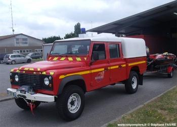Véhicule de secours nautique, Sapeurs-pompiers, Loire-Atlantique
