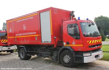 Véhicule porte-cellule, Sapeurs-pompiers de Paris,  ()