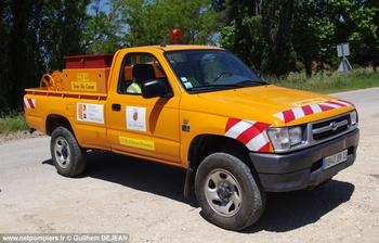 Camion-citerne pour feux de forêts léger, Défense des forêts contre les incendies, Bouches-du-Rhône (13)