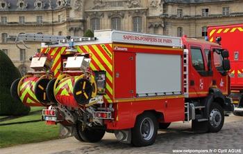 Camion-citerne rural, Sapeurs-pompiers de Paris,  ()