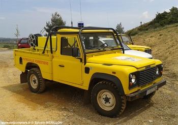 Camion-citerne pour feux de forêts léger, Défense des forêts contre les incendies, Aude (11)