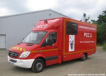 Véhicule poste de commandement, Sapeurs-pompiers, Haute-Corse (2B)