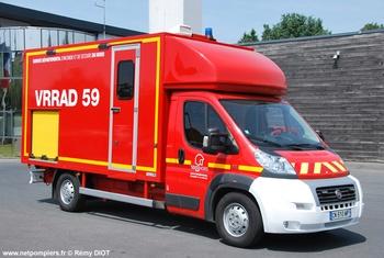 Véhicule pour interventions à risques technologiques, Sapeurs-pompiers, Nord (59)