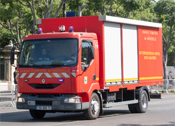 Véhicule de soutien aux investigateurs, Marins-pompiers de Marseille,  ()
