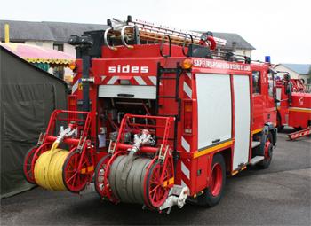 Fourgon-pompe tonne, Sapeurs-pompiers, Eure-et-Loir
