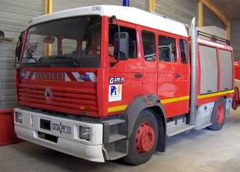 #4027 - Fourgon-pompe tonne Sides, châssis Renault Manager G270, sapeurs-pompiers, Leucate, Aude (11)