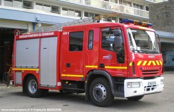 Fourgon-pompe tonne, Sapeurs-pompiers, Morbihan (56)