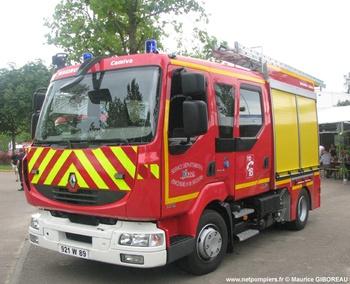 Fourgon-pompe tonne léger, Sapeurs-pompiers, Yonne (89)