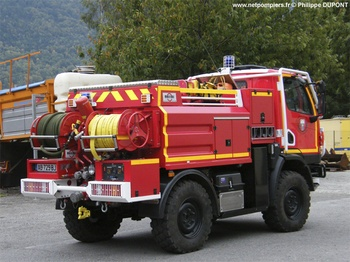 Camion-citerne pour feux de forêts, Sapeurs-pompiers, Haute-Garonne (31)