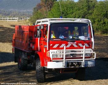 <h2>Camion-citerne pour feux de forêts - Bédarieux - Hérault (34)</h2>