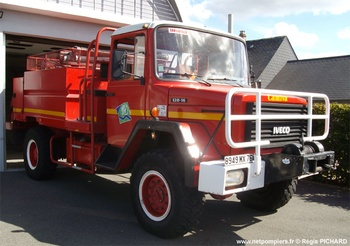 <h2>Camion-citerne pour feux de forêts - Servaville - Seine-Maritime (76)</h2>
