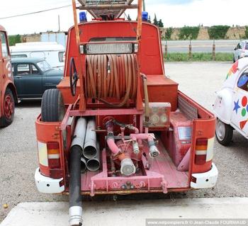 Véhicule de première intervention, Service de sécurité incendie, Vaucluse (84)
