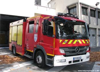 Fourgon-pompe tonne, Sapeurs-pompiers, Charente-Maritime