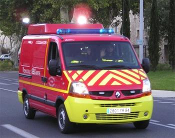 Véhicule de protection et de sécurité, Sapeurs-pompiers, Vaucluse (84)