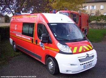<h2>Véhicule de secours et d'assistance aux victimes - Le Donjon - Allier (03)</h2>