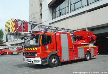 Echelle pivotante, Sapeurs-pompiers, Alpes-Maritimes