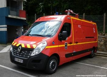 Véhicule poste de commandement, Sapeurs-pompiers, Manche (50)
