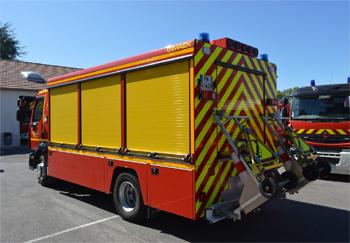 Véhicule de secours routier, Sapeurs-pompiers, Haute-Marne (52)