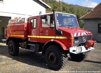 Camion-citerne pour feux de forêts, Sapeurs-pompiers, Doubs (25)