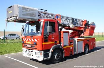 Echelle pivotante, Sapeurs-pompiers, Indre-et-Loire (37)