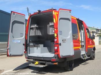 Véhicule de secours nautique, Sapeurs-pompiers, Ille-et-Vilaine (35)