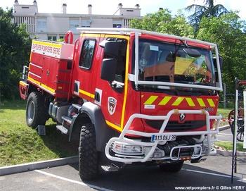 Camion-citerne pour feux de forêts, Sapeurs-pompiers, Isère (38)