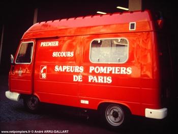 Premier secours relevage, Sapeurs-pompiers de Paris,  ()