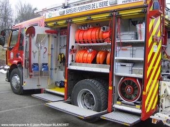 <h2>Fourgon-pompe tonne secours routier - Les Abrets - Isère (38)</h2>