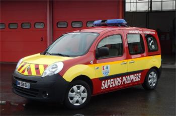 Véhicule léger infirmier, Sapeurs-pompiers, Charente-Maritime