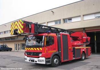 Echelle pivotante, Sapeurs-pompiers, Moselle (57)