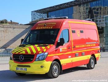 Véhicule de secours et d'assistance aux victimes, Marins-pompiers de Marseille, Bouches-du-Rhône (13)